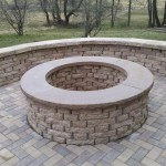 stone firepit patio southern maryland