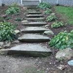 stone step installer